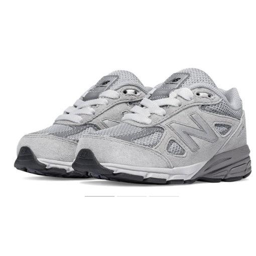 New Balance 990v4 Grey Infant Lace