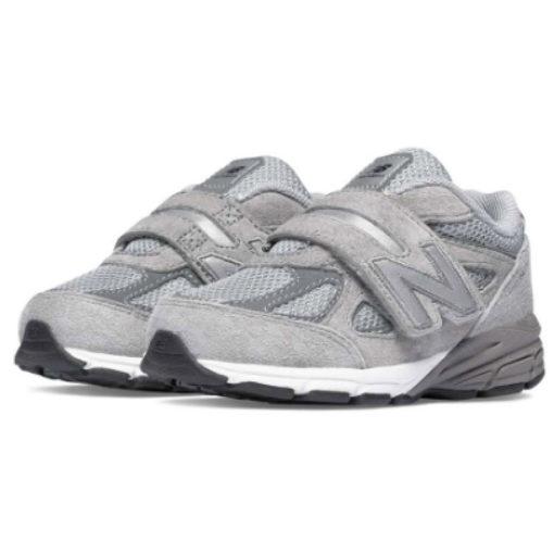 New Balance 990 Grey Infant Velcro