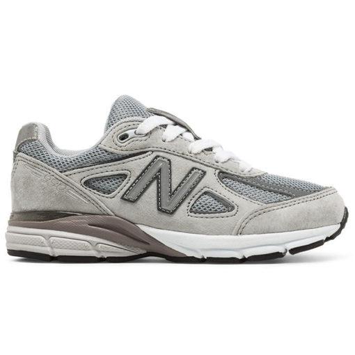 New Balance 990 Grey Kid Lace