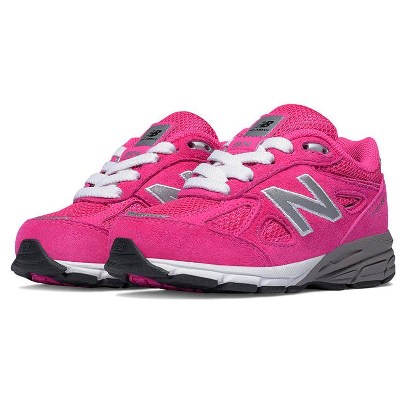New Balance 990 Pink Infant Lace