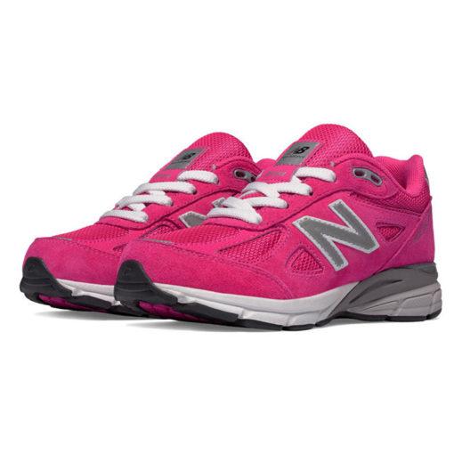 New Balance 990 Pink Kid Lace