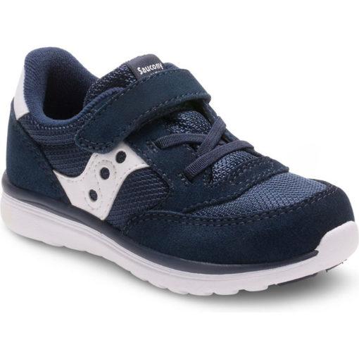 Saucony Kid's Jazz Sneaker Navy White