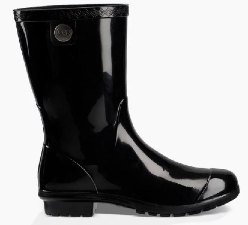 6e4b934a88c Ugg Women's Sienna Rain Boot Black