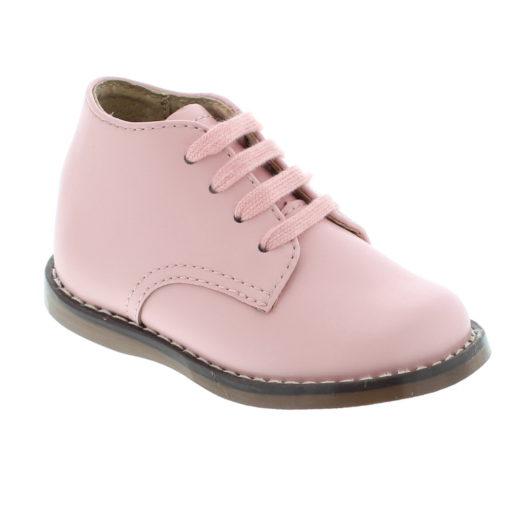 Footmates Kid's Tina Pink Leather