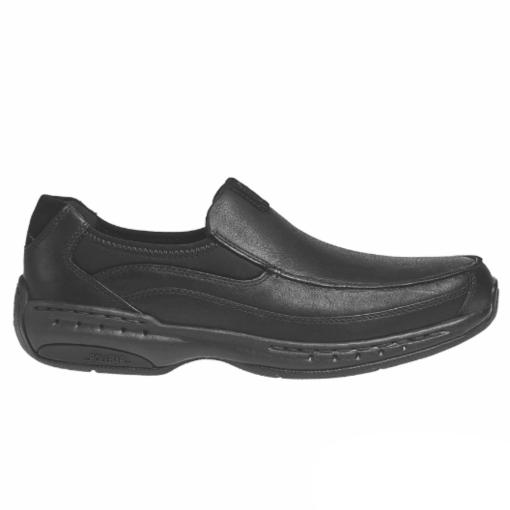 Dunham Men's Wade Slip-On Black Leather