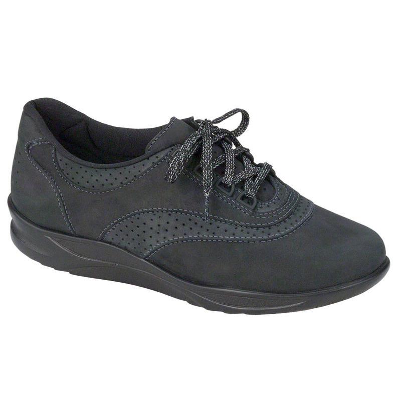 SAS Women's Walk Easy Walking Shoe Nero