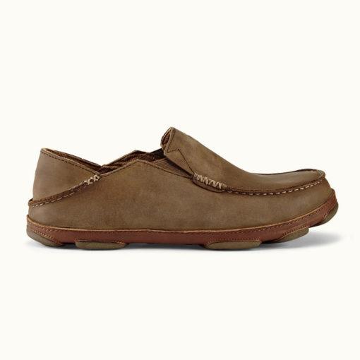 Olukai Men's Moloa Toffee Leather