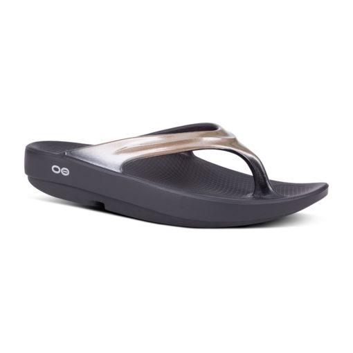 Oofos OOlala Lattee Thong Sandal