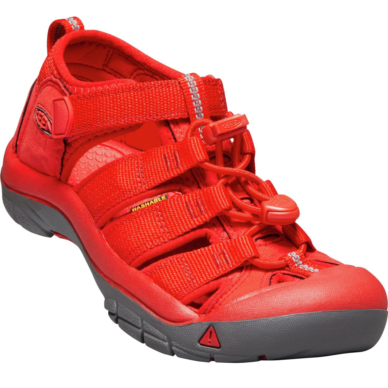 Keen Newport H2 Firey Red Big Kids