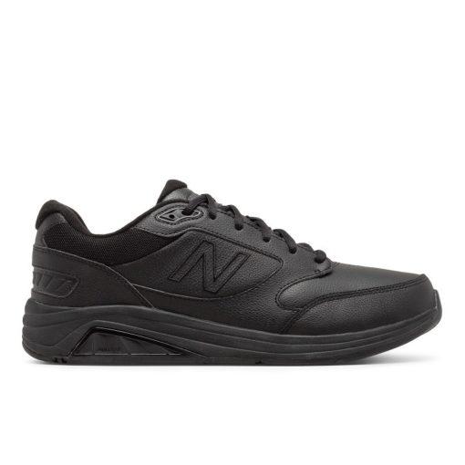 New Balance Men's MW928BK3 Black Leather
