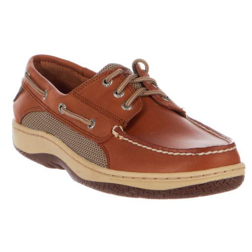 Sperry Billfish 3-Eye Boat Shoe Men's Dark Tan