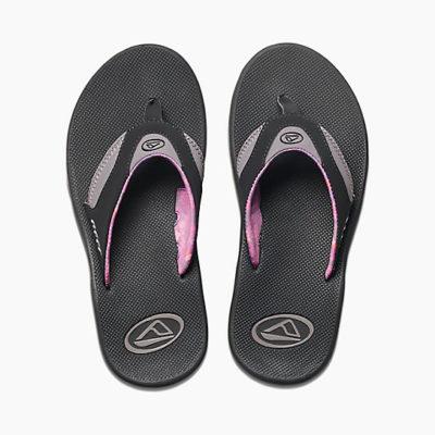 Reef Women's Fanning Sandal Black/Grey