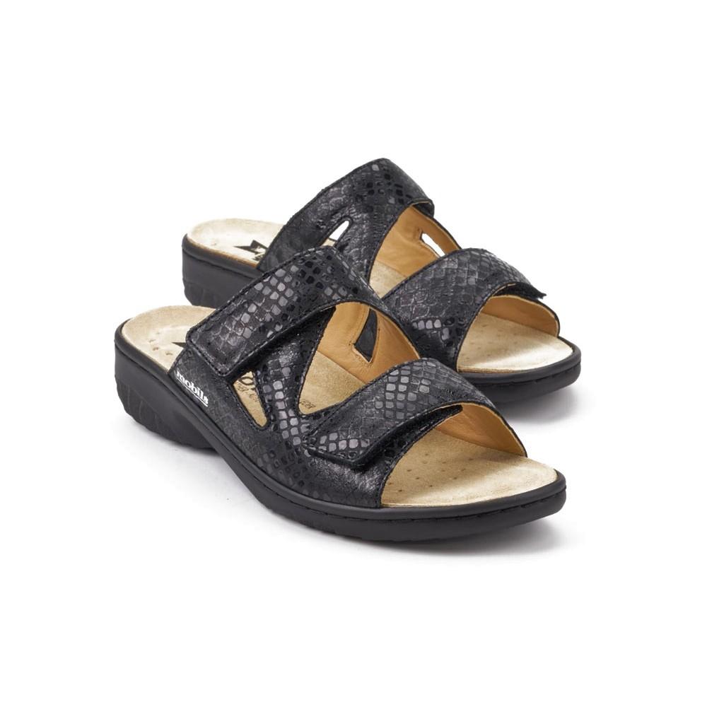 Geva Black Leather Laurie S Shoes