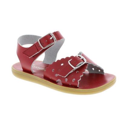 Footmates Kid's Ariel Red Sandal