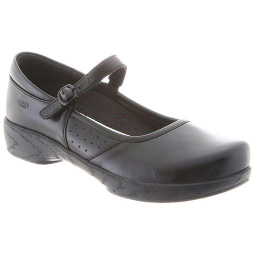 Klogs Women's Charleston Black Leather