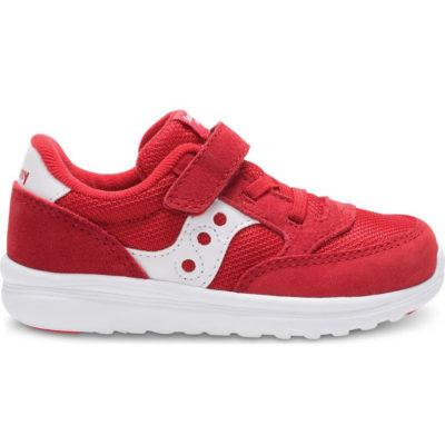 Saucony Kid's Jazz Sneaker Lite Red