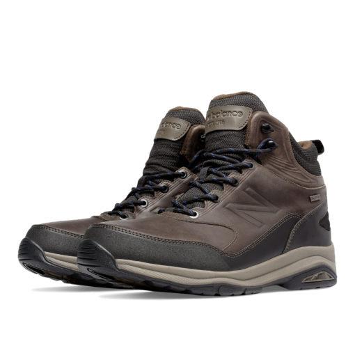 New Balance 1400DB Brown Leather Trail Walker Men's