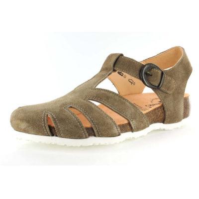 Think Women's Julia Fisherman Shoe Macchiato Leather