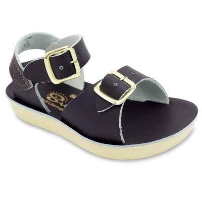 Hoy Sun-San Surfer Brown Leather Toddler/Little Kid