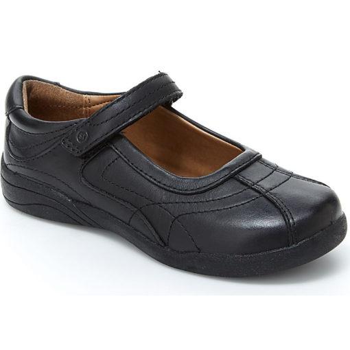 Stride Rite Big Kid's Claire Black Leather