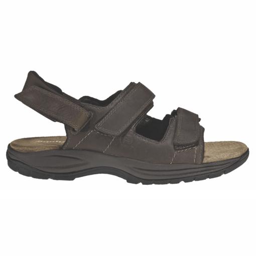 Dunham Men's St. Johnsbury Brown Leather Sandal