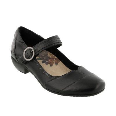 Taos Women's Virtue Black Leather
