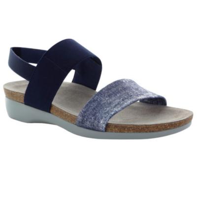 Munro Women's Pisces Sandal Blue/Silver Metallic