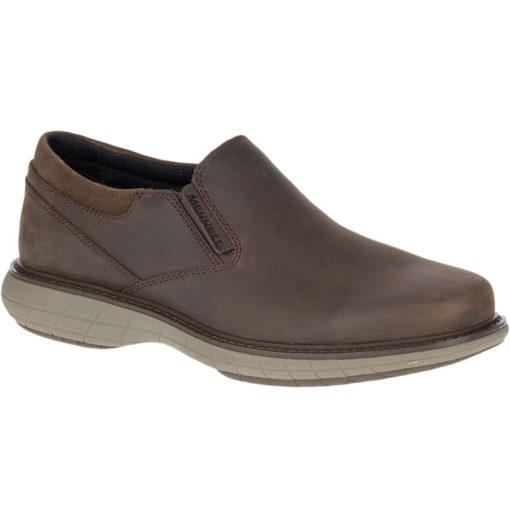 Merrell World Vue Moc Men's Brown Leather