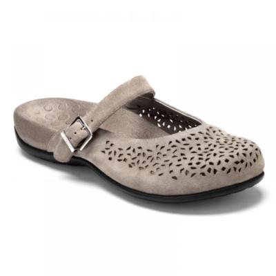 Vionic Women's Lidia Slip-On Mule Grey