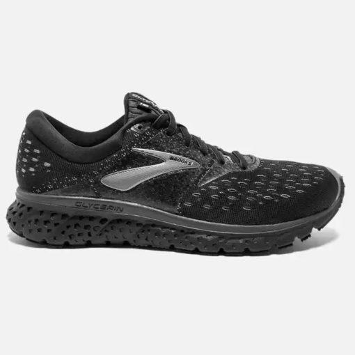 Brooks Glycerin 16 Men's Road Running Shoes Black