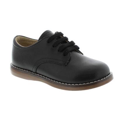 Footmates Kid's Willy Black Leather