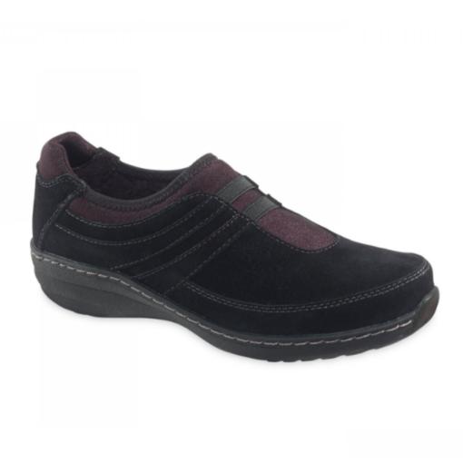 Aetrex Women's Kimber Black Slip-On