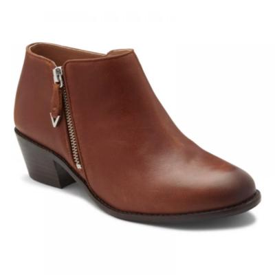 Vionic Women's Jolene Bootie Mocha Leather