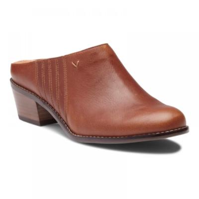Vionic Women's Nellie Mule Mocha Leather