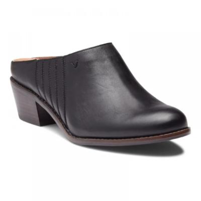 Vionic Nellie Mule Black Leather