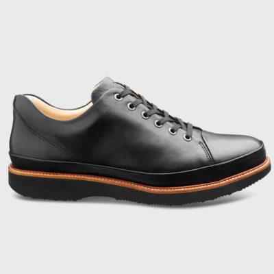 Samuel Hubbard Men's Dress Fast Black Leather