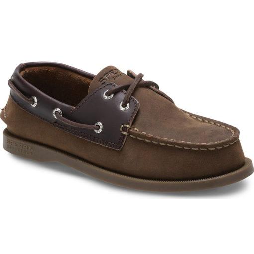 Sperry Kid's Authentic Original Boat Shoe Brown Buck