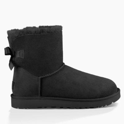 Ugg Mini Bailey Bow II Women's Black Boot