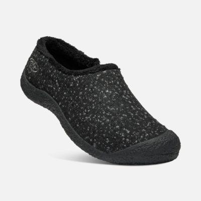 Keen Howser Wool Slide Women's Black Knobby/Steel Grey