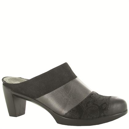 Naot Women's Fortuna Black/Dark Gray Combo