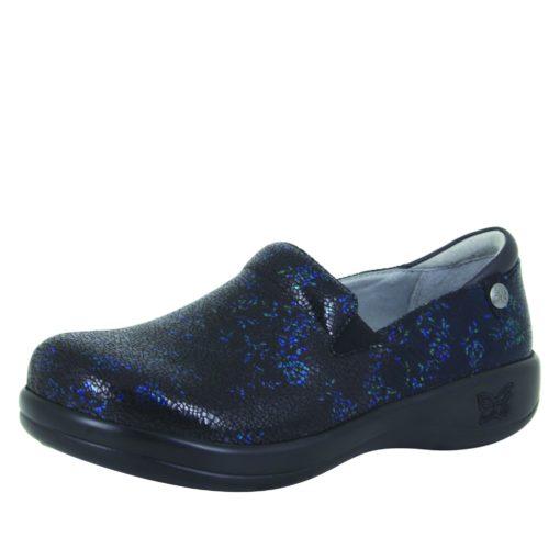 Alegria Women's Keli Devine Blue/Black Professional Shoe