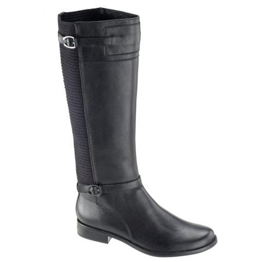 Aetrex Women's Chelsea Tall Riding Boot Black