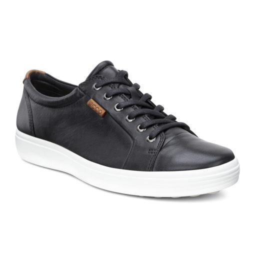 ECCO Men's Soft 7 Sneaker Black