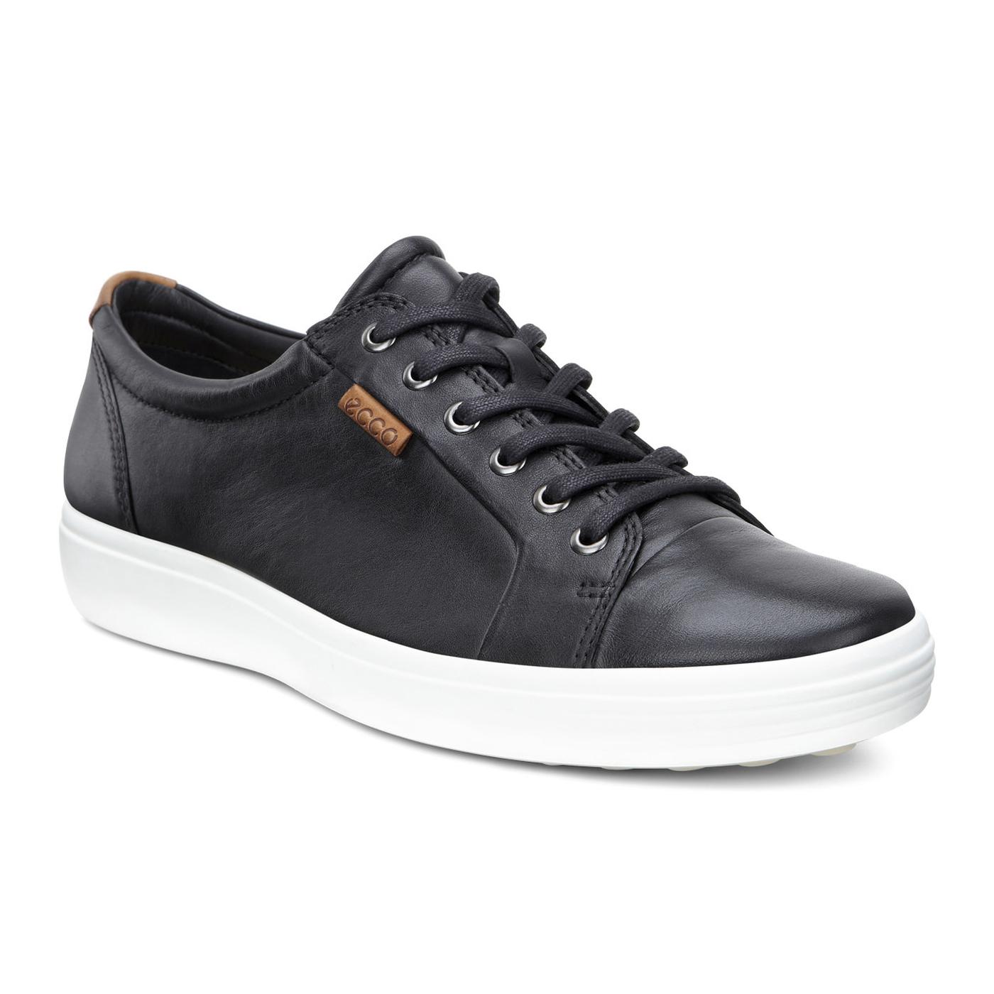 4189a9abe9 ECCO Men's Soft 7 Sneaker Black