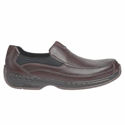 Dunham Men's Wade Slip-On Brown Leather