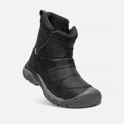 Keen Women's Hoodoo III Low Zip Boot Black/Magnet