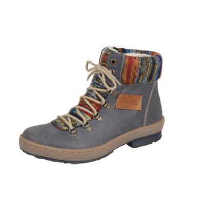 Rieker Women's Z6743-45 Grey Leather