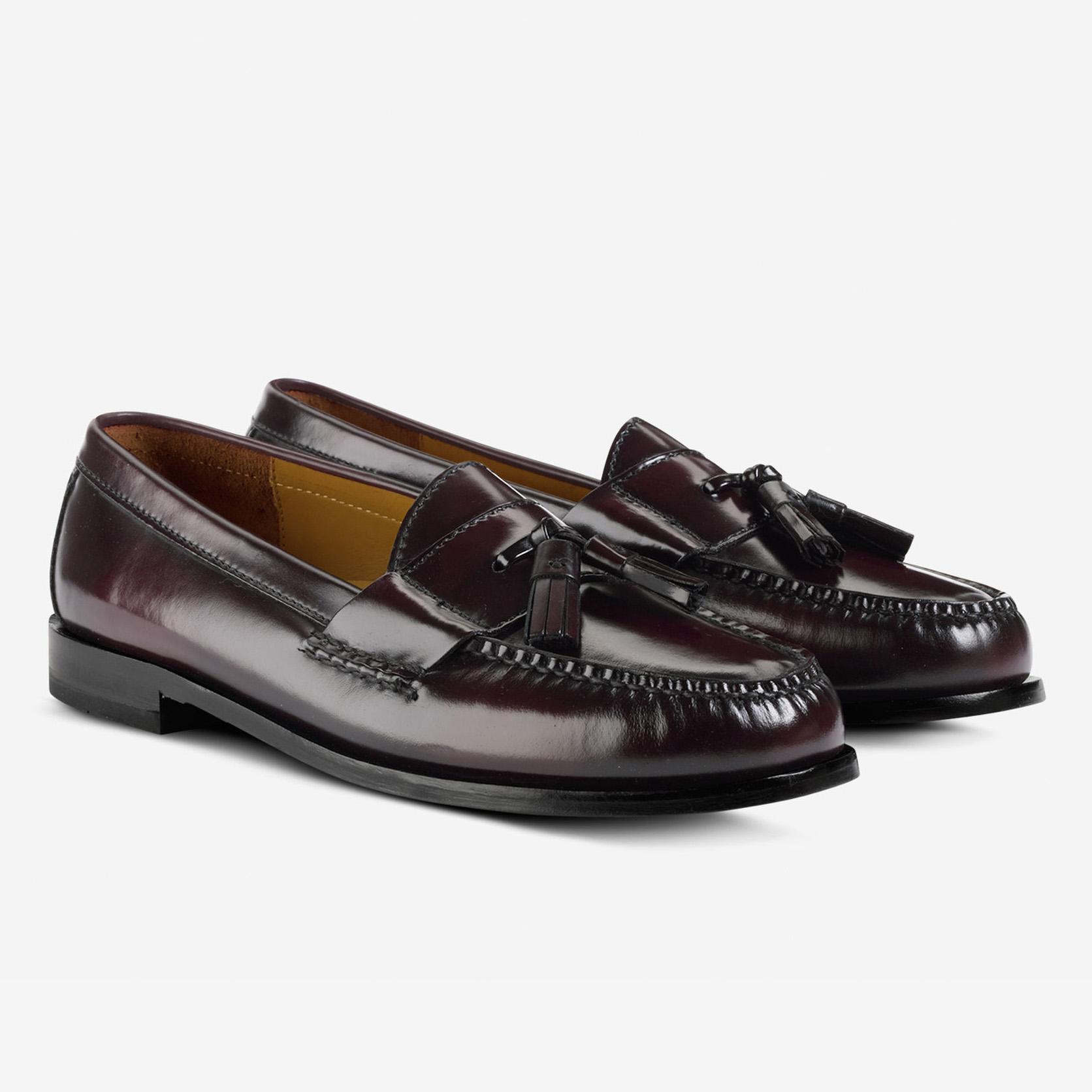 de9683544a Cole Haan Men's Pinch Tassel Loafer Burgundy | Laurie's Shoes