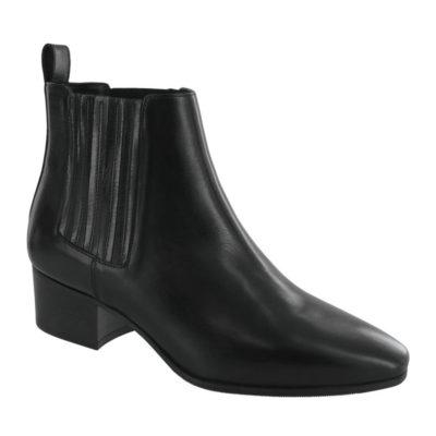 SAS Women's Vita Ankle Boot Black Leather