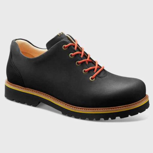 Samuel Hubbard Men's Fresh Black Waxhide Leather